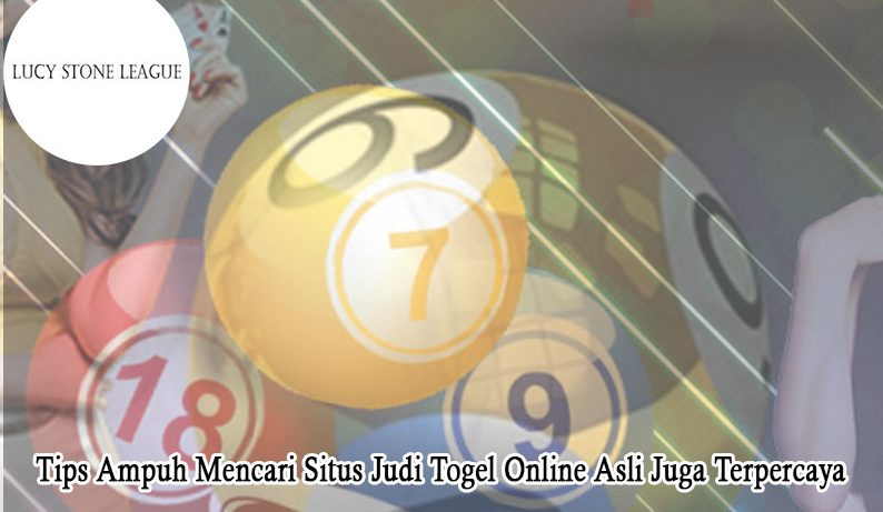 Togel Online Asli Juga Terpercaya Tips Ampuh - LucyStoneLeague
